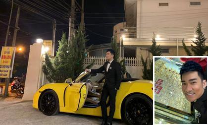 Quang Hà lái xe đi mua vàng, dân mạng tò mò xế hộp tiền tỉ 2 chỗ hiếm có ở Việt Nam