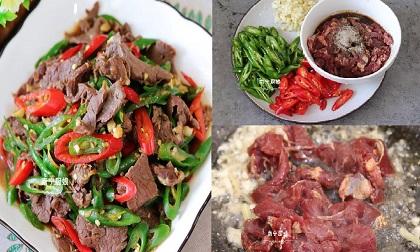 Cách xào thịt bò thơm mềm, không bị khô dai dành cho người vụng về