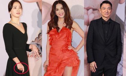 Xuất hiện tại lễ trao giải Kim Tượng, Song Hye Kyo gây thất vọng vì vừa dừ vừa tăng cân, tay cũng không đeo nhẫn cưới