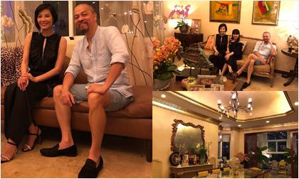 NTK Đức Hùng hé lộ cơ ngơi hoành tráng của cựu siêu mẫu Vũ Cẩm Nhung