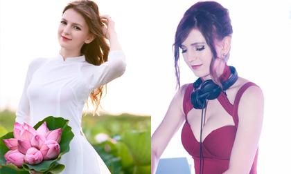 'Hot girl DJ' mặt xinh như búp bê chụp ảnh với sen, đời thường đẹp hết nấc