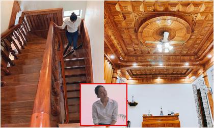 Nhà ốp gỗ đẹp mê ly của bố mẹ người đẹp Phan Thị Lý ở quê