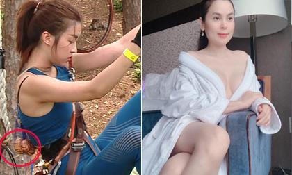 Sao Việt 19/8/2019: Đỗ Mỹ Linh bị nghi được ưu ái, chơi ăn gian ở 'Cuộc đua kỳ thú'; Phương Lê khoe ngực mơn mởn dù đã tuổi 40