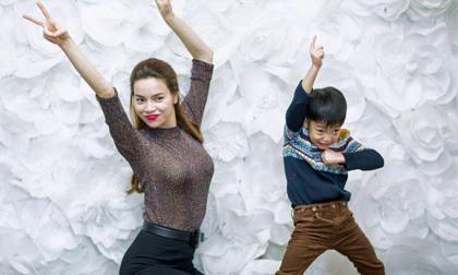 Hồ Ngọc Hà tổ chức sinh nhật ấm áp bên con trai Subeo