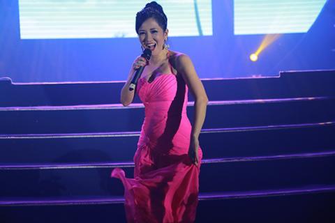 Hồng Nhung phấn khích lao xuống sân khấu hát cùng khán giả Hong-nhung-phan-lao-xuong-san-khau-hat-cung-khan-gia003-ngoisao.vn