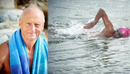 Kỷ lục thế giới: 70 tuổi bơi vượt eo biển Măng sơ, Phi thường - kỳ quặc, ky luc the gioi, ky luc, Ky luc guiness, eo bien mang so, bac si