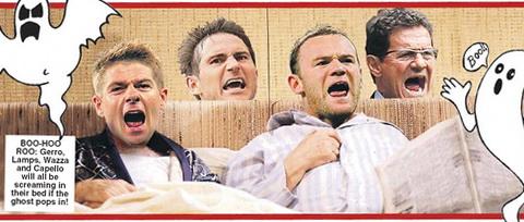 Đội tuyển Anh,ngôi nhà ma ám,khách sạn Stary,Fabio Capello,bóng đá