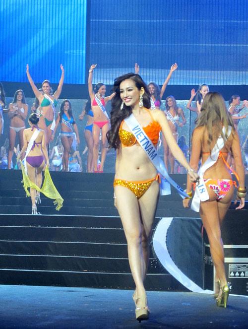 hoa hậu Quốc tế 2011,Trúc Diễm