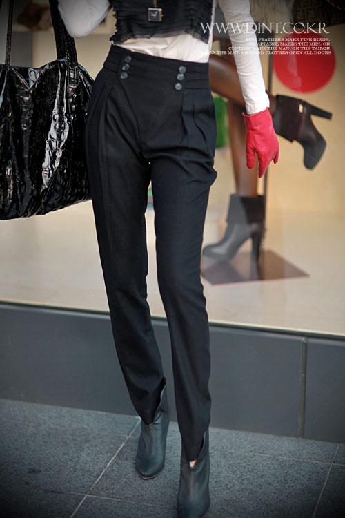 quần cạp cao, thời trang công sở, thời trang, quần dài