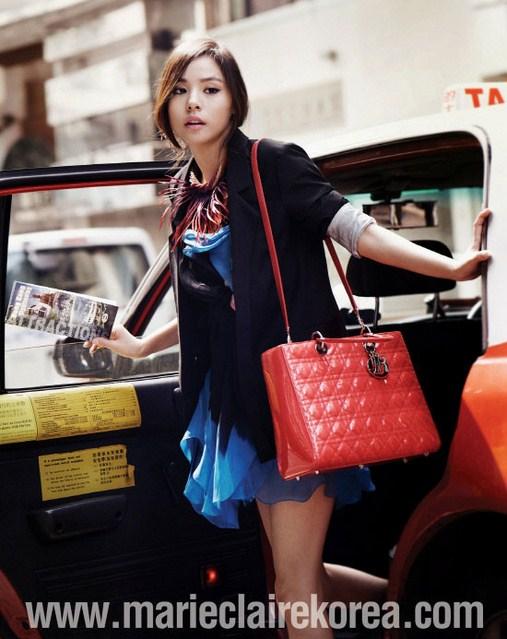 Túi xách Lady Dior, Min Hyo Rin, Túi xách, Phụ kiện, Tạp chí Marie Claire, Túi hàng hiệu