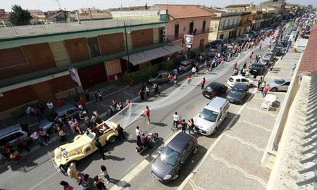 Italia, Cô dâu, Khăn voan cô dâu, Khăn voan dài nhất thế giới, Thế giới đó đây