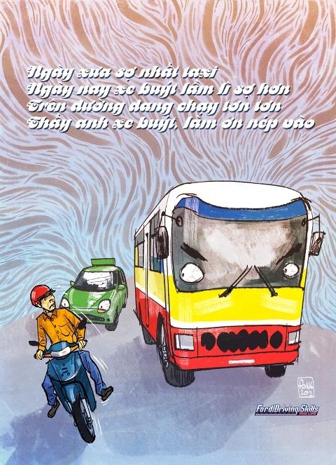 Xe bus - hung thần trong thành phố