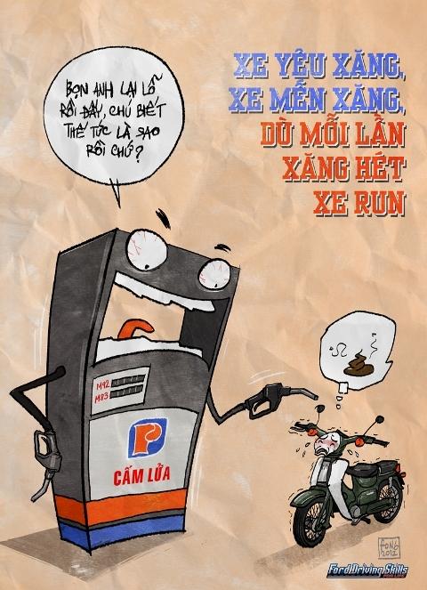 họa sĩ Thanh Phong,sát thủ đầu mưng mủ,văn hòa đi xe của người việt