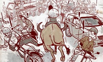 văn hóa giao thông, truyện cười văn hóa giao thông, truyện cười, ảnh hài hước, truyện cười trong cuộc sống