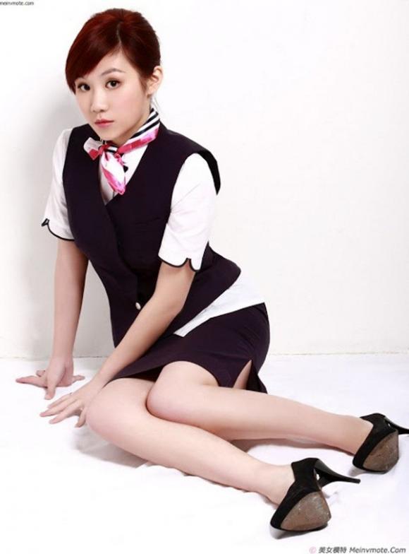 nữ tiếp viên hàng không,hot girl