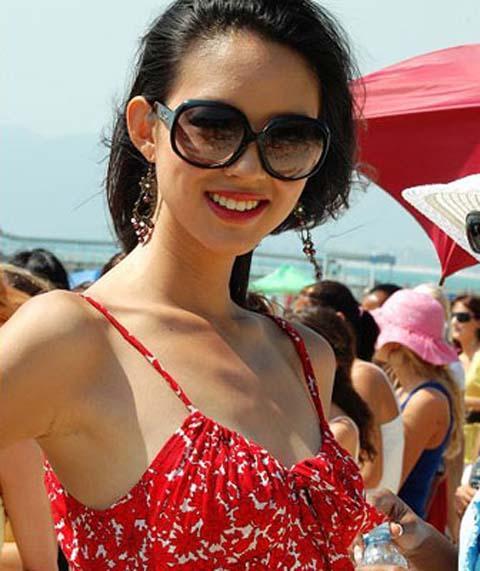 Hoa hậu,Hoa hậu thế giới 2007,Trương Tử Lâm