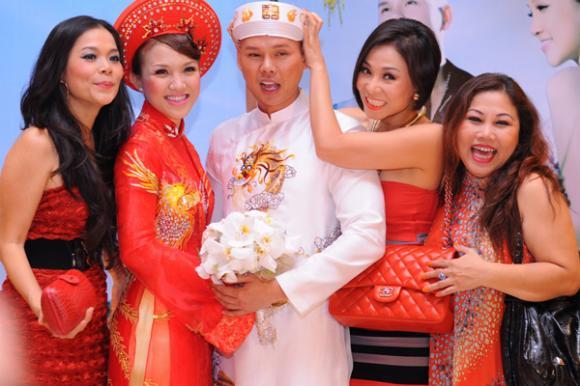 Sao việt,hình ảnh,hài hước,đám cưới,hiếu hiền,diệu hương,hiệp gà,phan đinh tùng,thái ngọc bích