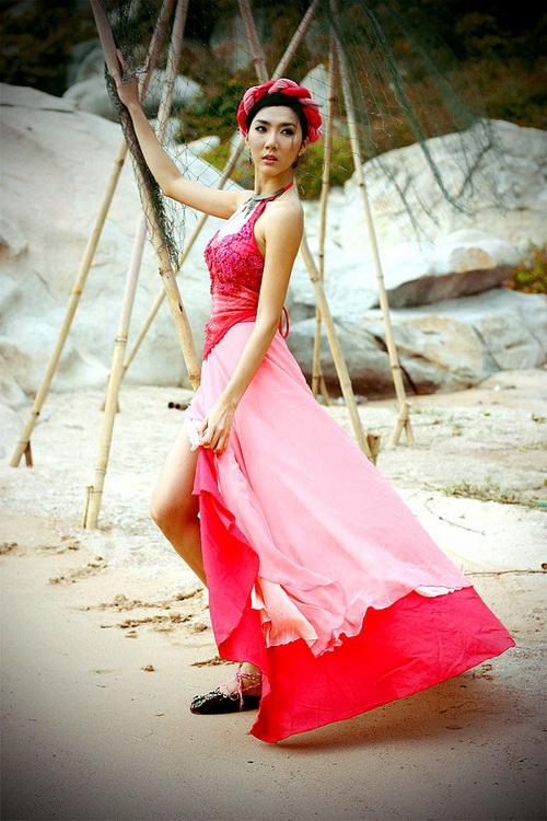 Ngọc Quyên,người mẫu,mỹ nhân kế