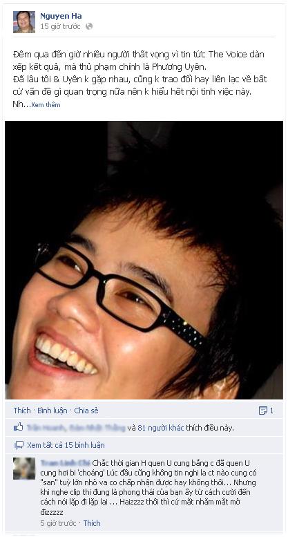 Nhạc sĩ Nguyễn Hà lại bày tỏ cái nhìn cảm thông với Phương Uyên