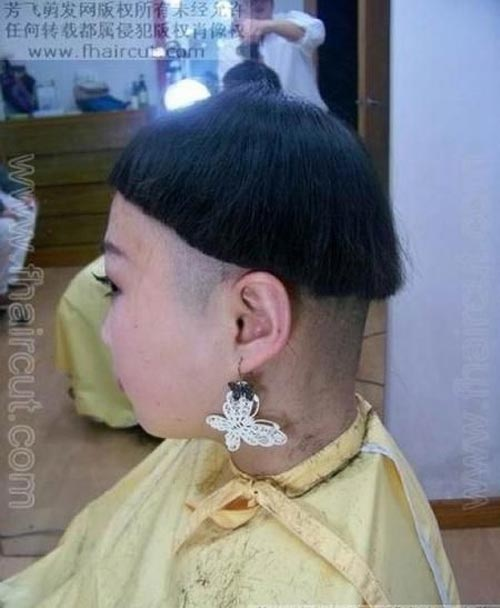 Những kiểu tóc chỉ có ở Trung Quốc