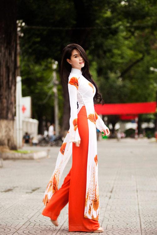 10 mỹ nhân mặc áo dài đẹp nhất showbiz - 10