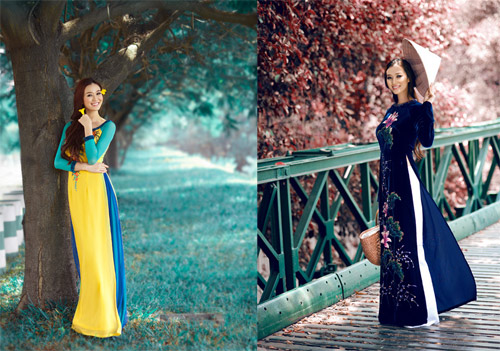 10 mỹ nhân mặc áo dài đẹp nhất showbiz - 11
