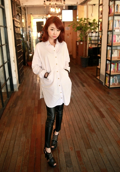 Thời trang nữ,Kết hợp áo sơ mi trắng,Sơ mi nữ,Thời trang công sở