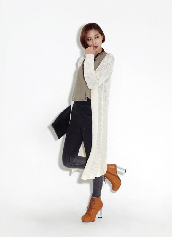 Cardigan,váy ngắn,quý cô,cô nàng công sở,se lạnh,phái đẹp