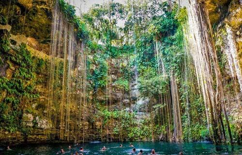 Bán đảo Yucatan,Du lịch Mexico,Thiên đường bơi lội