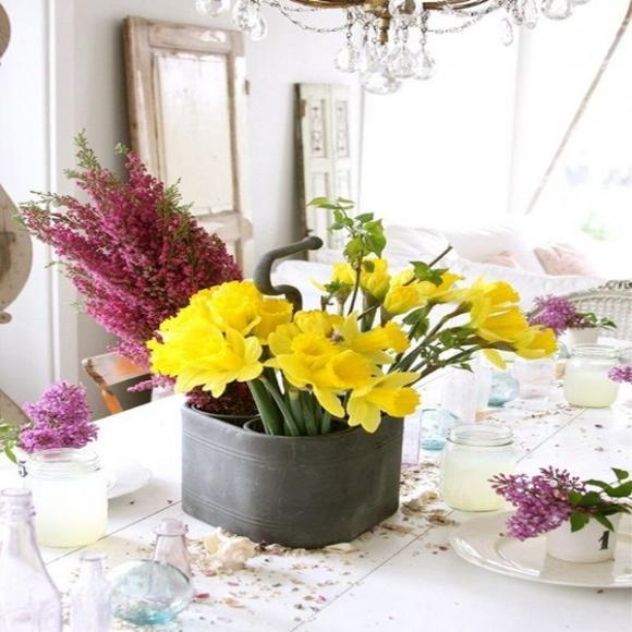 chon hoa phu hop voi tung khong gian trong nha jpg2 Chia sẻ cách lựa chọn hoa phù hợp với từng không gian trong nhà