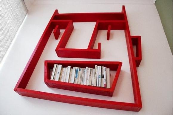Kệ lưu trữ,thiết kế thống minh,nội thất