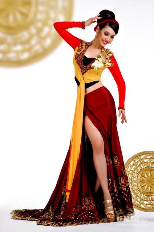 Trương Thị May,Hoa hậu hoàn vũ 2013,Quốc phục Việt nam