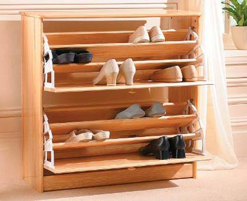 tu1jpg13839041220 Chai sẻ cách bố trí tủ đựng giầy để tránh tạp khí
