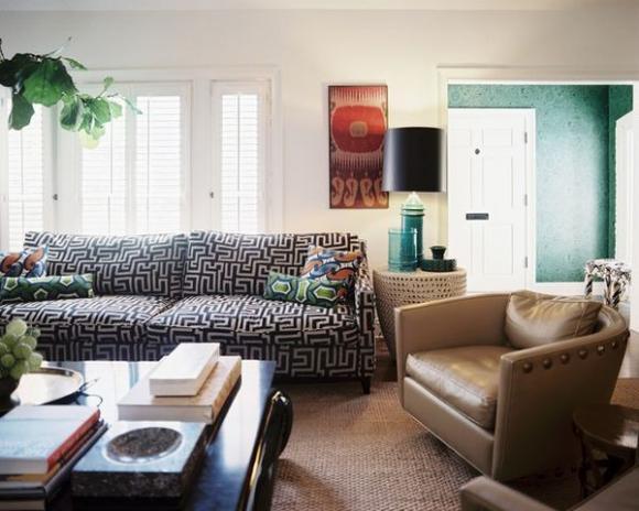 Không gian sống đẹp hơn với sofa màu sắc chuẩn 1
