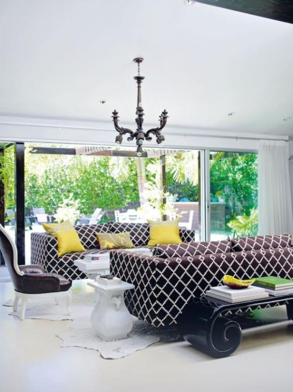 Không gian sống đẹp hơn với sofa màu sắc chuẩn 3