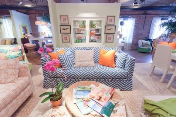 Không gian sống đẹp hơn với sofa màu sắc chuẩn 4