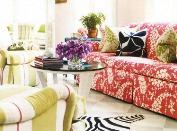 Không gian sống đẹp hơn với sofa màu sắc chuẩn 5
