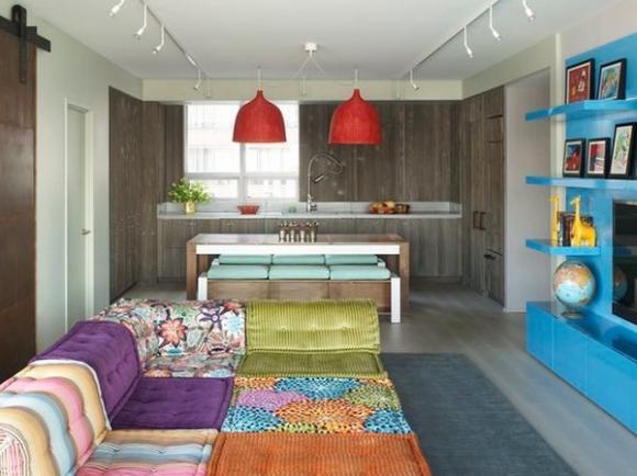 Không gian sống đẹp hơn với sofa màu sắc chuẩn 6