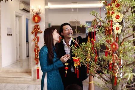 Năm mới tràn ngập hạnh phúc trong gia đình Trương Ngọc Ánh