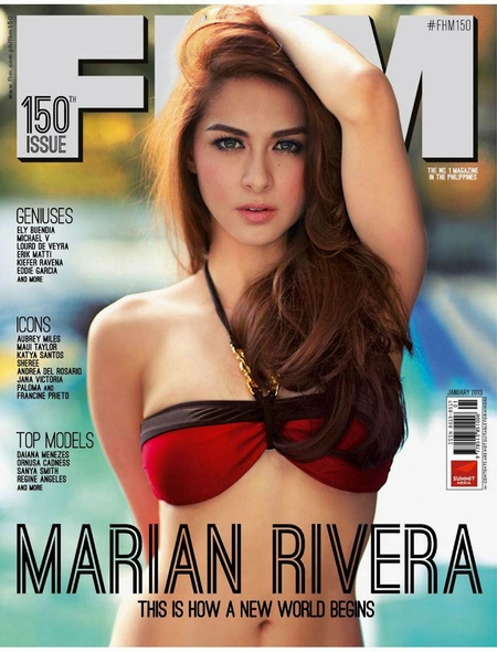 Marian Rivera,Ảnh sao,Mỹ nhân đẹp nhất Philippines