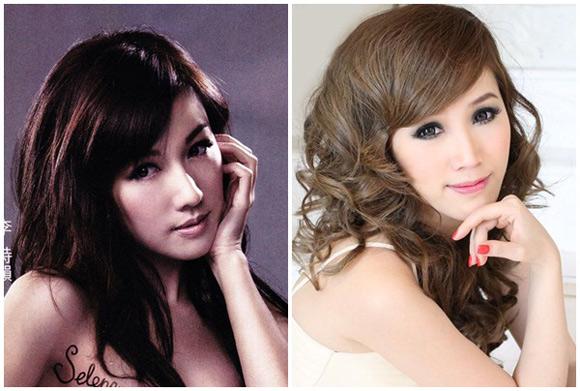 Sao Việt sao ngoại hao hao giống nhau ai xinh hơn