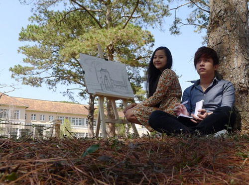 Midu váy ngắn đóng phim tại Đà Lạt, Phim, midu, hit hoang tu va lo lem, ngo quang hai, da lat, tam trieu dang, yanbi, hot girl, dien vien, phim, phim moi, phim hay