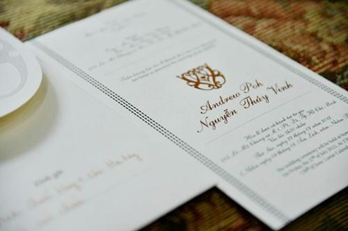 Đám cưới sao việt,Thiệp cưới sao việt,Jennifer Phạm,Đan Trường,Cù Trọng Xoay