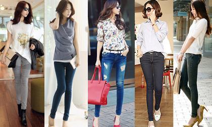 quần xẻ, quần xẻ ống, thời trang, ống mở