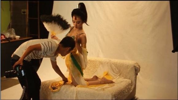 Angela Phương Trinh khoe nhan sắc tựa Thúy Kiều