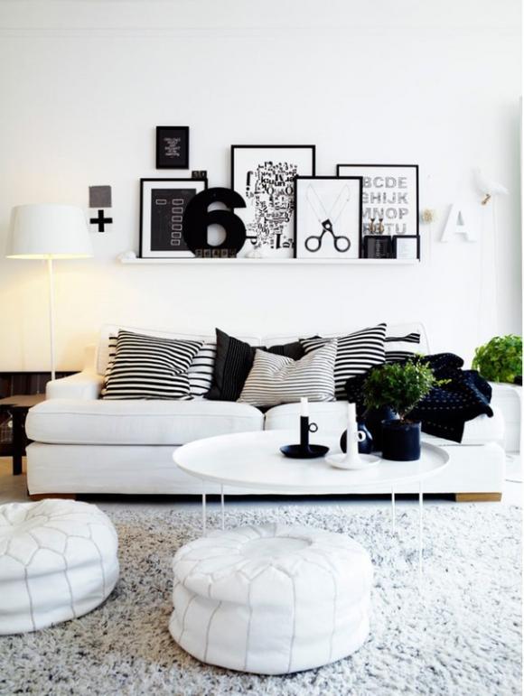 nha203jpg1379666124 Chia sẻ cách tận dụng từng centimet diện tích nhờ bài trí cho căn hộ 60m2