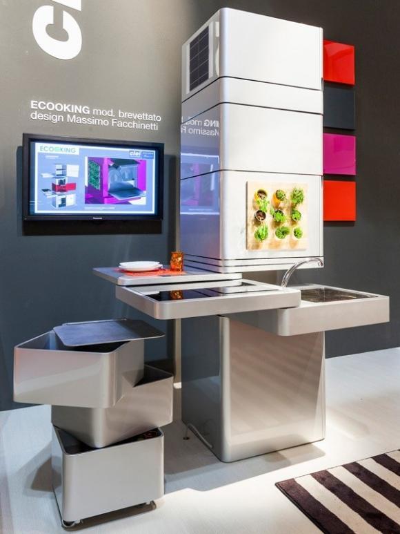 nhadep202jpg1379670725 Gợi ý những chiếc bếp đa năng tuyệt đỉnh cho mọi không gian