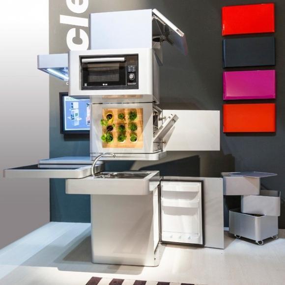 nhadep208jpg1379670728 Gợi ý những chiếc bếp đa năng tuyệt đỉnh cho mọi không gian