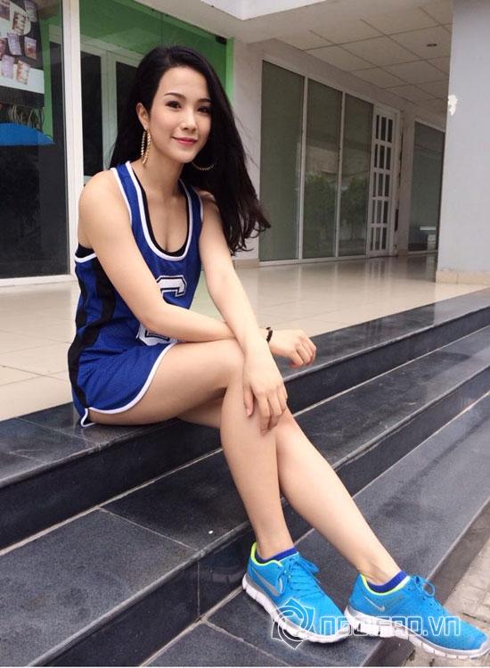 Diệp Lâm Anh,chân dài Diệp Lâm Anh,mốt không quần của sao Việt,cuộc đua kỳ thú