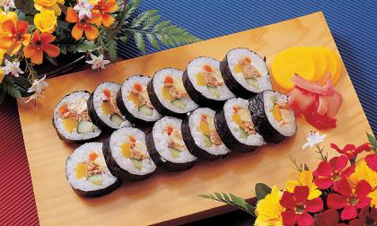 cơm cuộn, sushi, ẩm thực